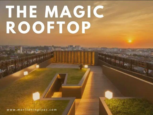 rooftop Artotel Semarang