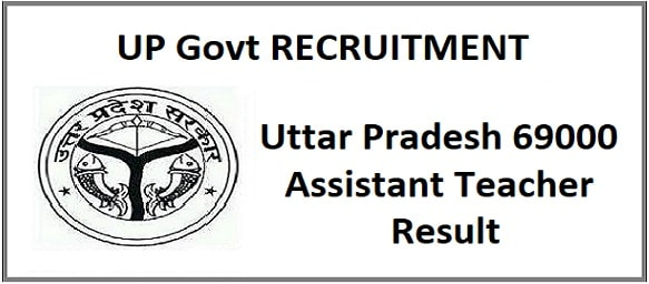 UP 69000 Assistant Teacher Allotment Result 2020
