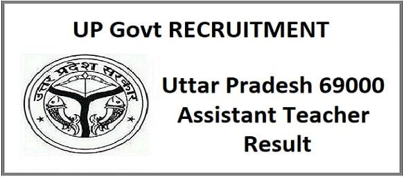 UP Assistant Teacher Online Form 2020