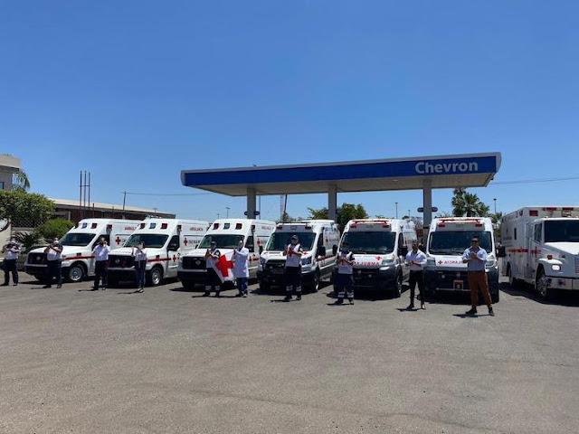 Chevron y Cruz Roja unidos contra el COVID 19