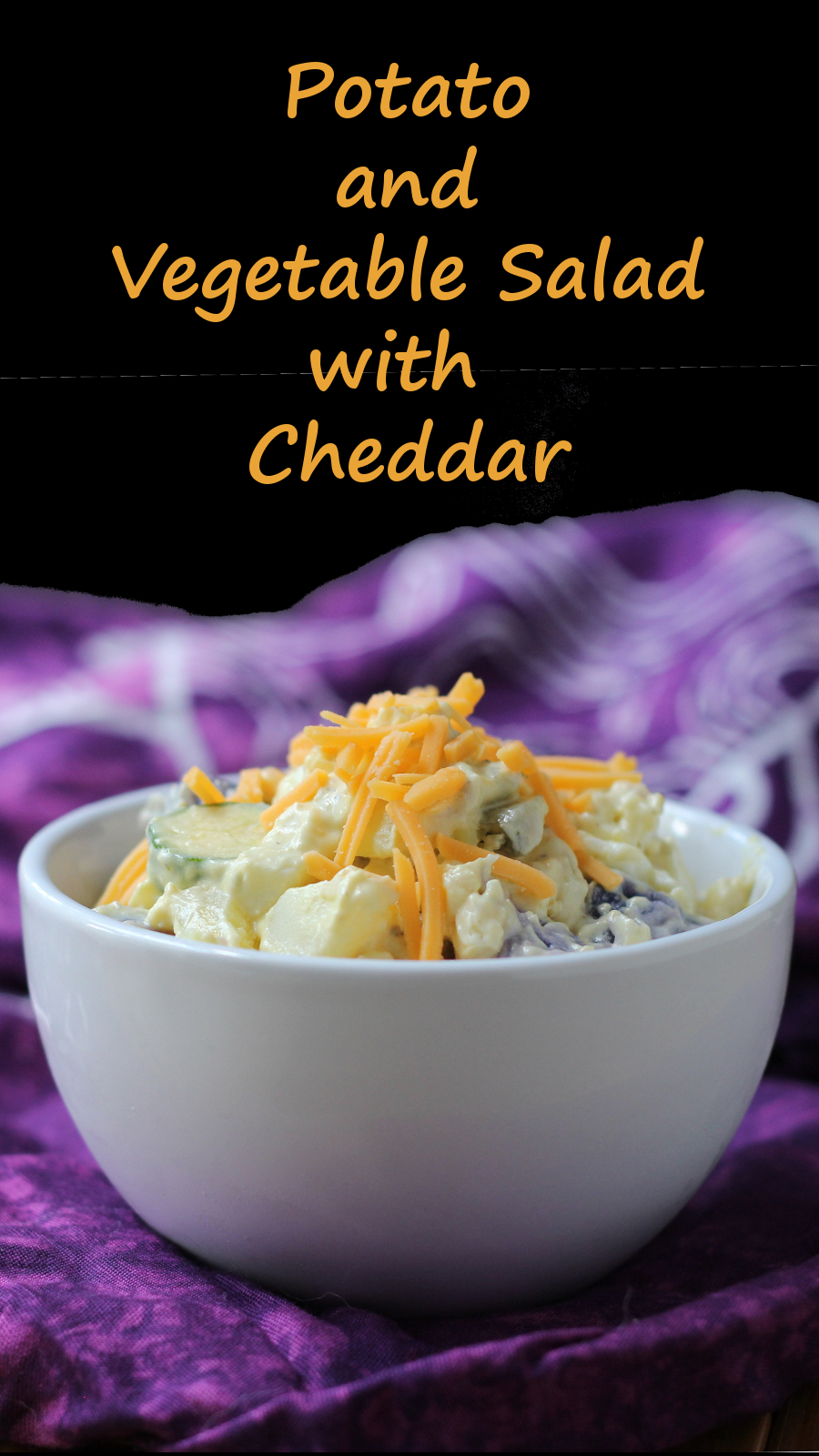 Cheddar Potato and Vegetable Salad