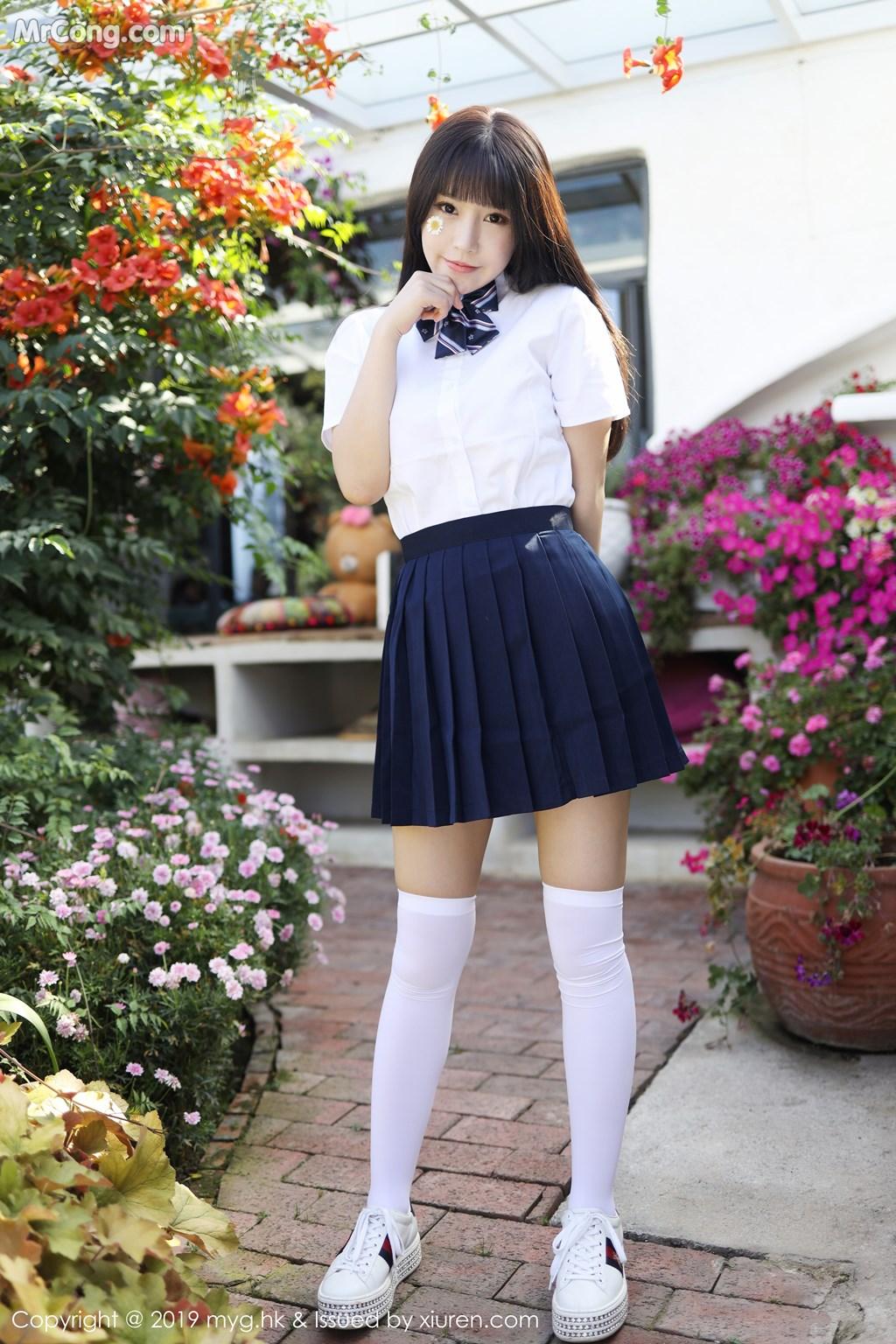 MyGirl Vol.408: Zhu Ke Er (Flower 朱 可 儿) (50 photos)