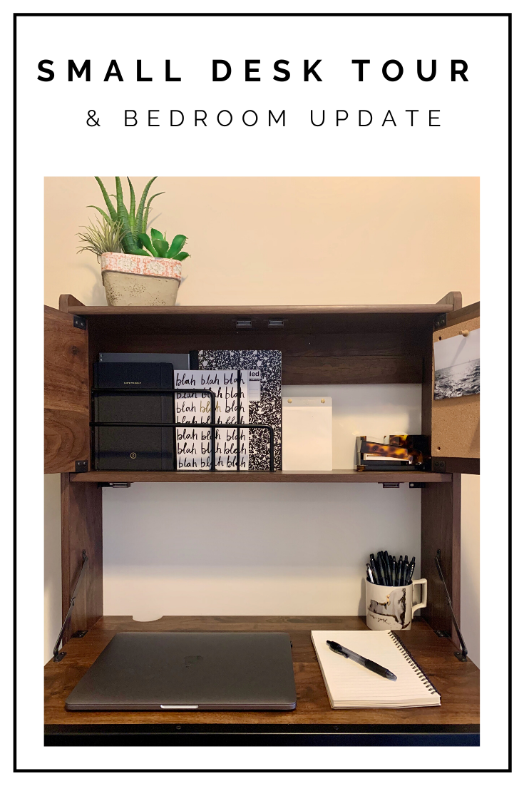 Click to read now or pin to save for later! Here's how you can make the most of a small space to create a compact office/desk set up