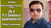 [Hindi]NLP 26# Sentence Segmentation P.2  |NLP|Python 3|Natural Language Processing|2019