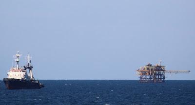 Росія продовжує незаконний видобуток газу на кримському шельфі
