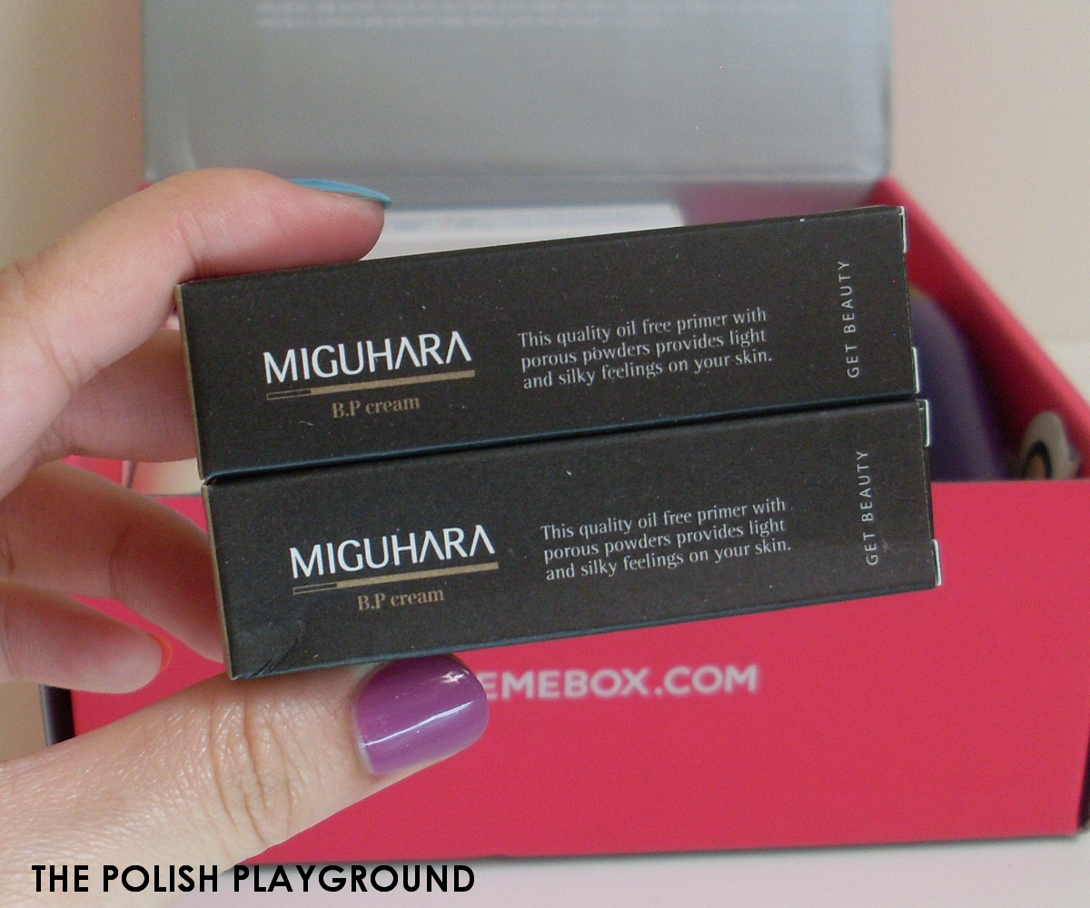 Memebox Luckybox #3 Unboxing - MIGUHARA B.P Cream