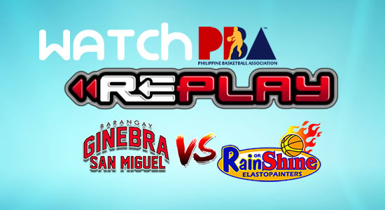 Video List: Ginebra vs ROS game replay March 2, 2018 PBA Philippine Cup