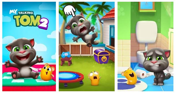 Game Android My Talking Tom 2