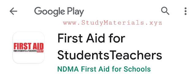 First aid Talim  application download in play store