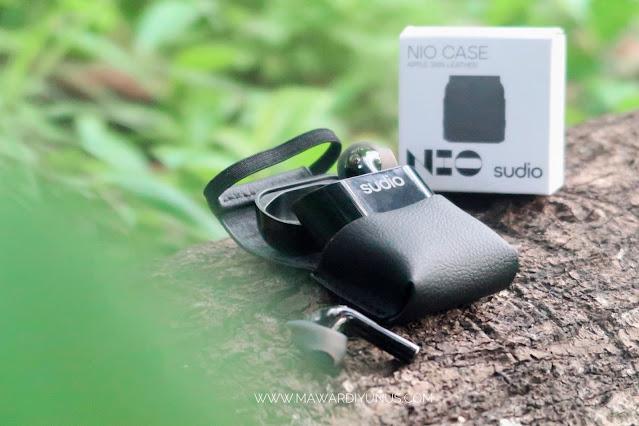 Casing Biodegradable Untuk Pengguna Wireless Earbud Sudio NIO.