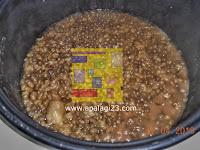 Tahapan Memasak Nutrijell dan Bubur Kacang Ijo