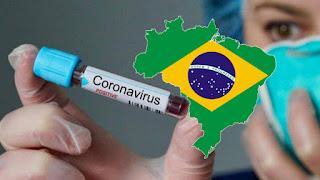 Brasil tem 2.906 mortes
