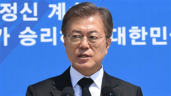 South Korean President Moon Jae-in suspends senior official over US missile system report