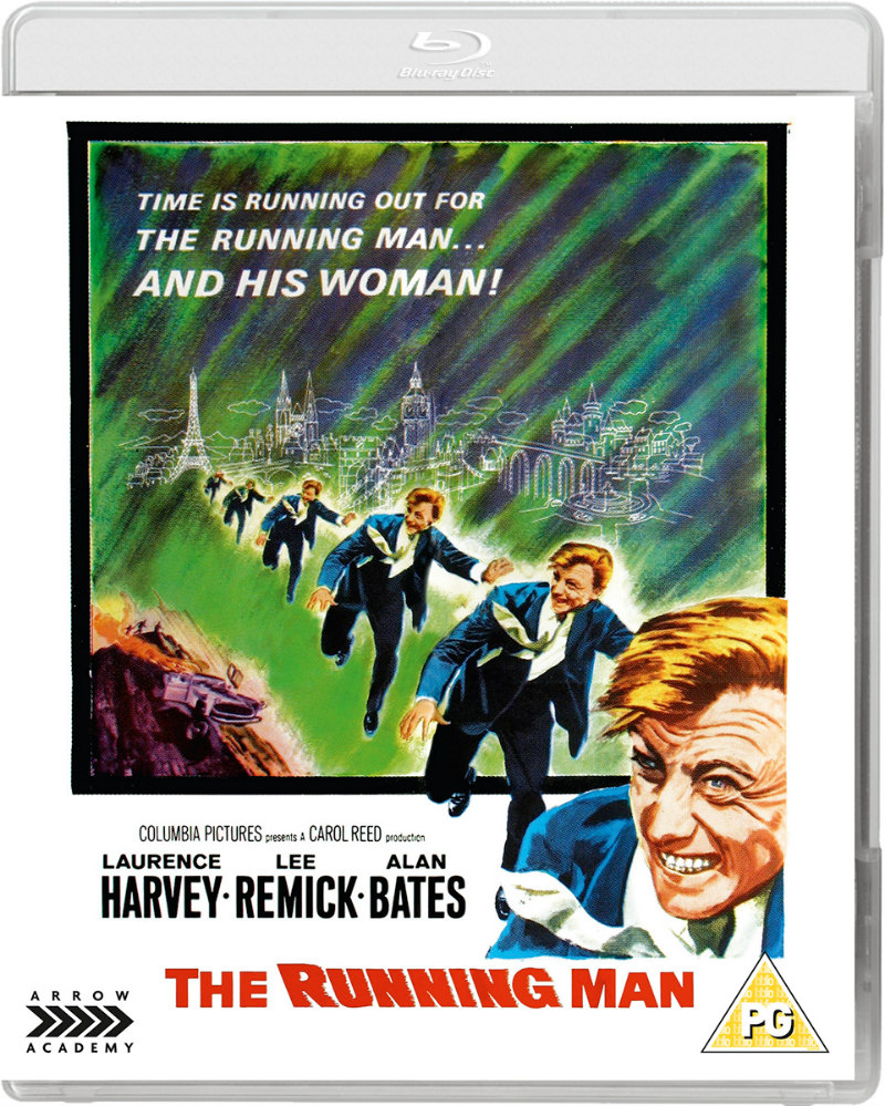 the running man 1963 bluray