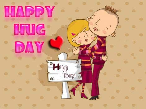hug day i love you