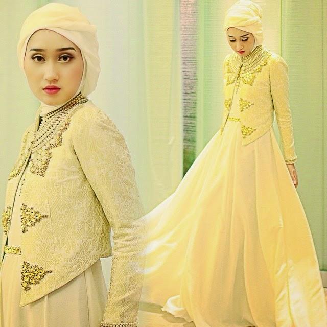 Model Gaun Muslim Wanita Terbaru 2015