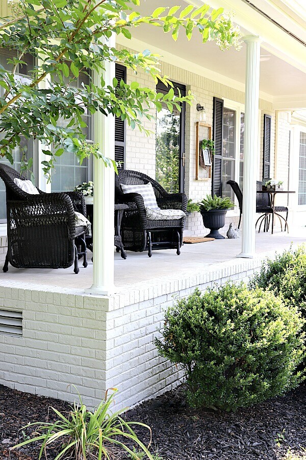 How to lime wash brick white paint