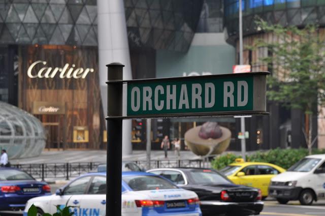 Orchard Road é a rua de compras mais famosa de Cingapura
