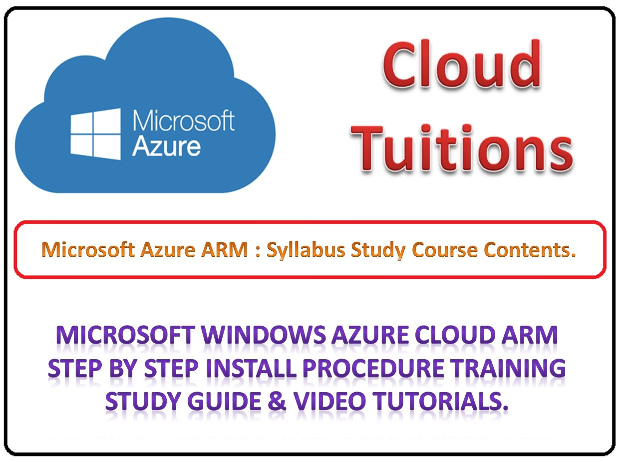 Free Microsoft Azure Training Step By Step Tutorial Guide Exam