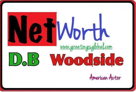 total net worth of d.b. woodside in 2020