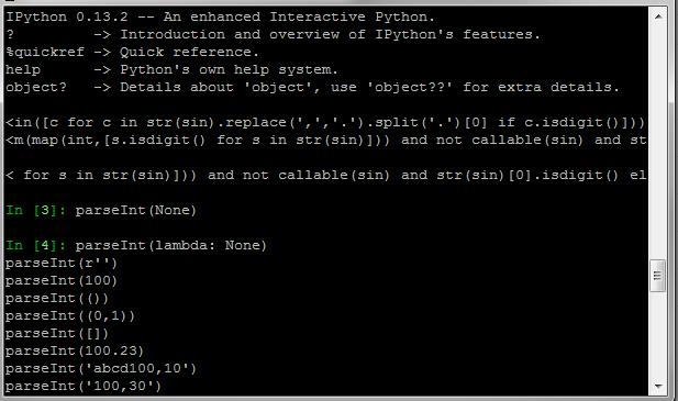 Python: parseInt implementation similar to JavaScript's parseInt