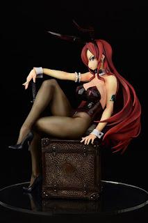 Erza Scarlet Bunny Girl Style 1/6 de Fairy Tail - Orca Toys