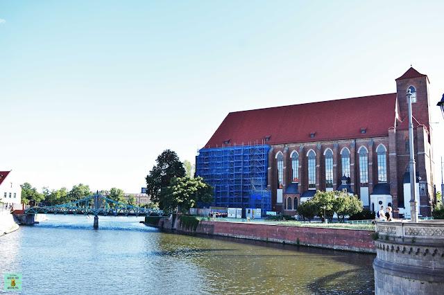 Isla de Arena en Wroclaw, Polonia