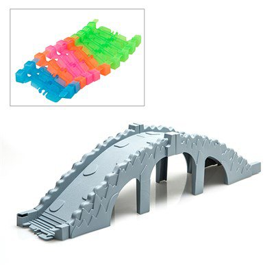 Turbo Trax Bridge &Track Set From Idealworld.TV