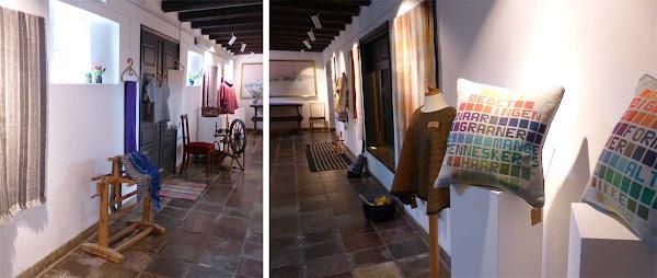 Weaving - Exhibition at Gudhjem Museum