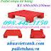 Pallet nhựa 600x600x100mm PL07