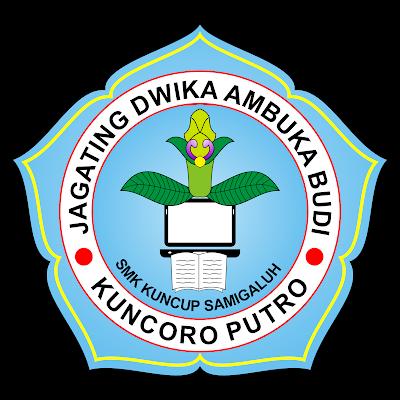Logo SMK Kuncup Samigaluh cdr Vektor CorelDraw