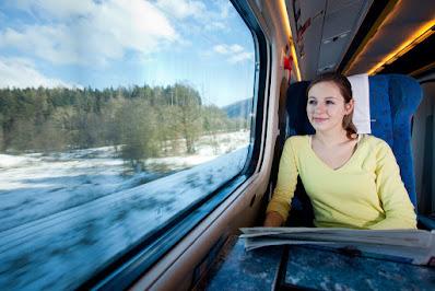 Viaje en tren - El jardín de los espejos