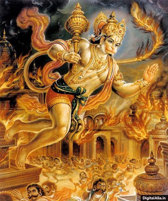 famous hanuman images