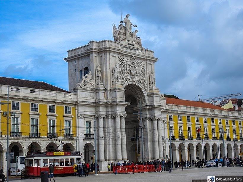Arco da Rua Augusta - O que fazer em Lisboa, Portugal