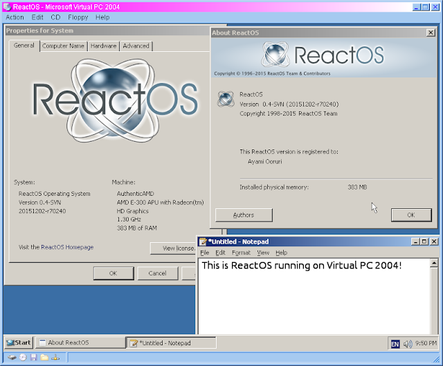 Mengenal ReactOS, Sistem Operasi Gratis Mirip Windows