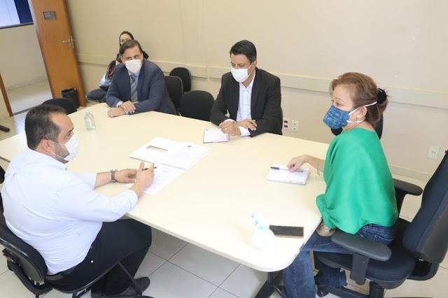 Senador Canedo: Prefeitura e Ministério Público discutem medidas para resolver problema da falta de água