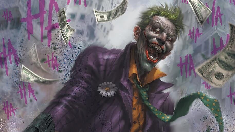 Joker, Laughing, DC, Supervillain, 4K, #6.2098