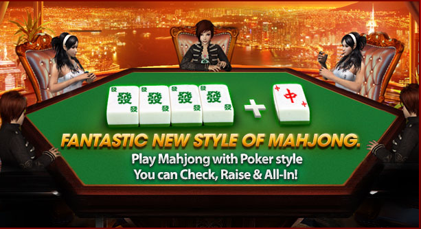 36BOL Poker Mahjong? New Style of playing your classic Mahjong