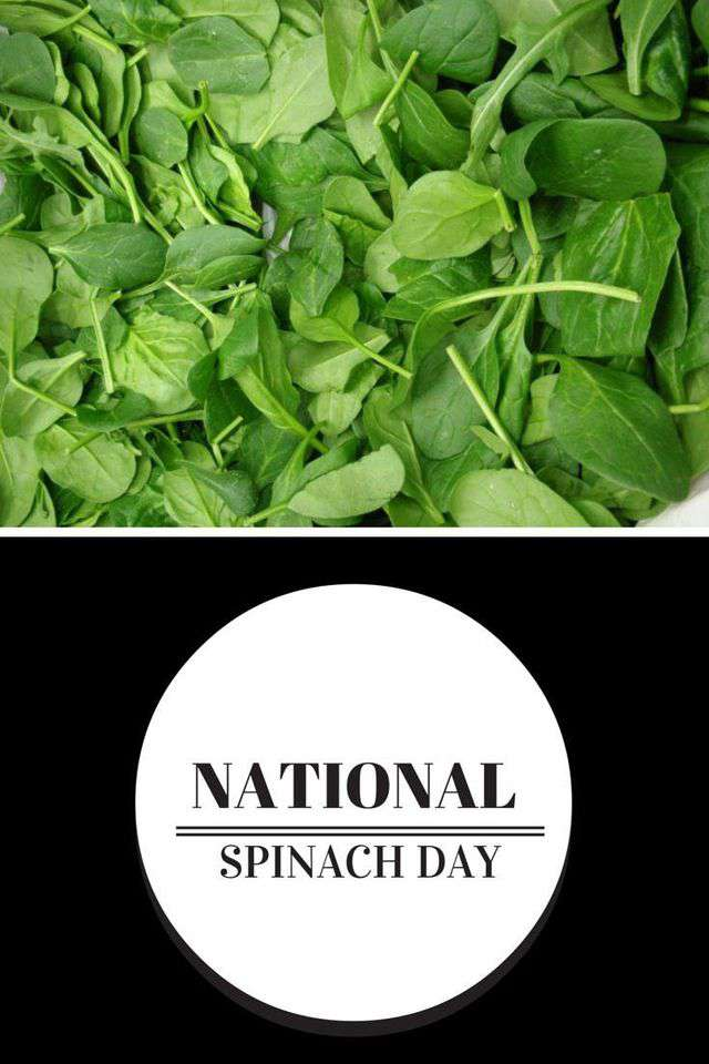 National Spinach Day Wishes pics free download