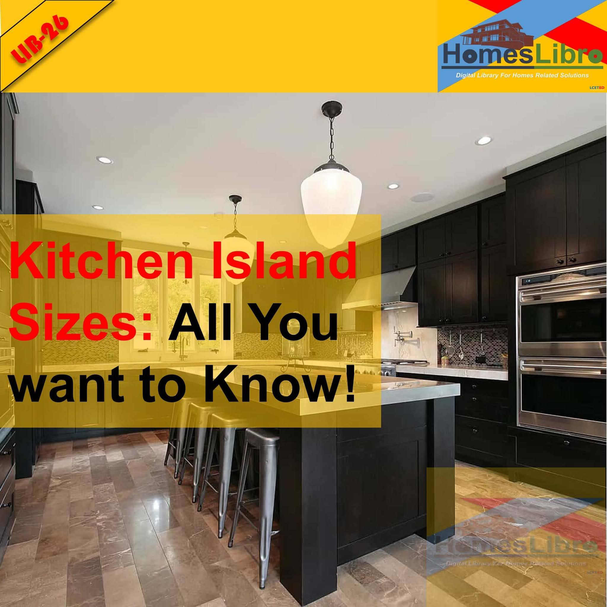 Kitchen Island Sizes