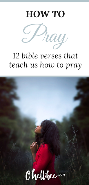 Prayer | Don't know where to start when it comes to prayer? Ever wonder how to come to God in prayer? These 12 bible verse are perfect for Beginners. #prayer