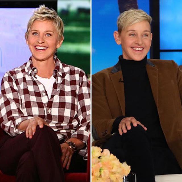 Ellen DeGeneres #10yearchallenge