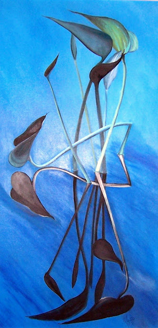 Oil on canvas 18 x 36, 1994  Private Collection, Brye and Leah Briggs  Oshawa Ontario. Timeless Expression by Maguire