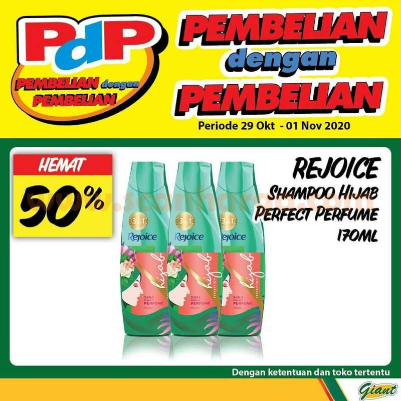 GIANT PDP Promo [Pembelian Dengan Pembelian] Periode 29 Okt - 1 Nov 2020