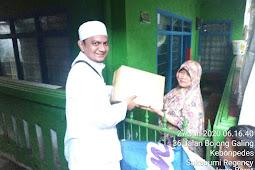 Jum'at Berkah, FPI Kab Sukabumi Bagikan Paket Sembako Untuk Yatim, Lansia Dan Dhuafa