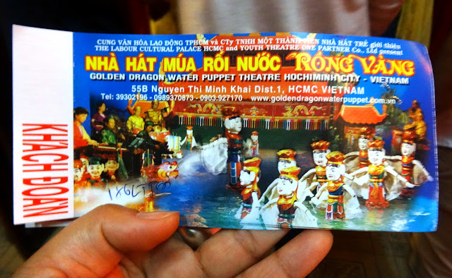 Tickets Water Puppet Show Saigon