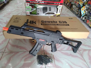Review Water Gel Blaster Heckler & Koch G36C