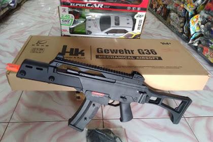 Review Water Gel Blaster Heckler & Koch G36C