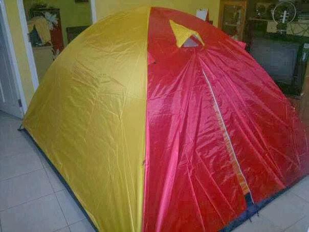 Tenda Kapasitas 6 orang