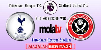Prediksi Tottenham Hotspur vs Sheffield United — 9 November 2019